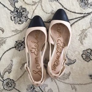 Sam Edelman Leah captoe pumps 6.5